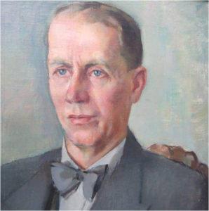 Kirjavälityksen 1. toimitusjohtaja Artturi Virtanen, vuosina 1919-1959.